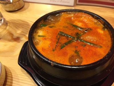 姫路 韓国バル 炭豚舎 チゲ鍋