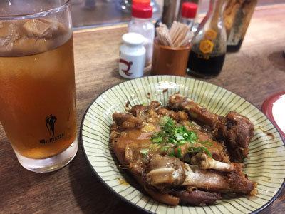 神戸 元町 大衆酒場 すず 豚足