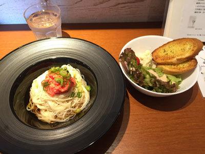 姫路 Cafe ダイニング 千 Sen 素麺セット