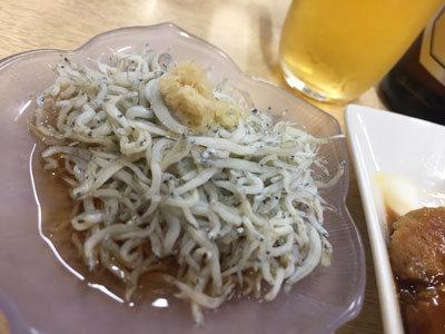 神戸 塩屋 お食事処 しろちゃん しらす