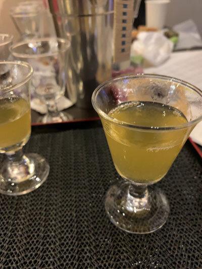 日本酒と和菓子 ペアリング 梅酒