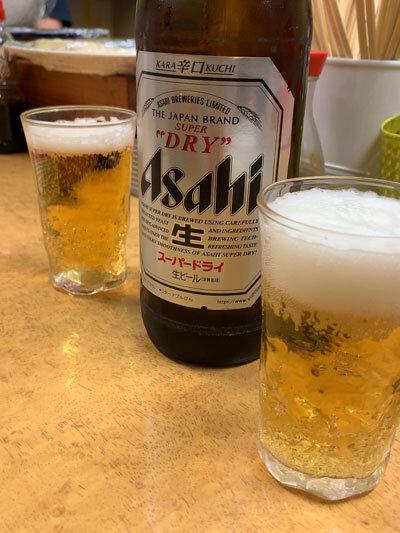 西明石 立ち呑み処 つよし屋 瓶ビール