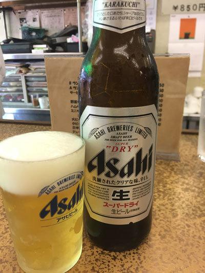 神戸 新開地 洋食 金プラ 瓶ビール