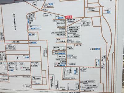 滝の茶屋 駅前商店街 地図