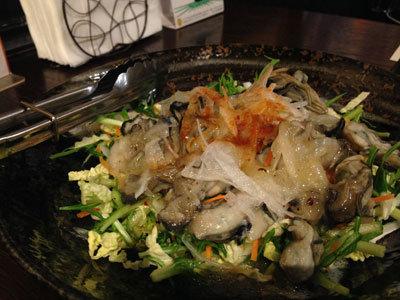 赤穂 牡蠣 かましま 牡蠣サラダ