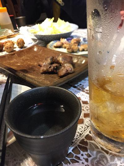 姫路 やき鳥 きむら 日本酒 熱燗