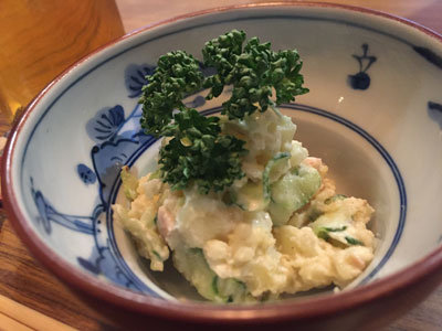 姫路 スナック ポカン ポテトサラダ