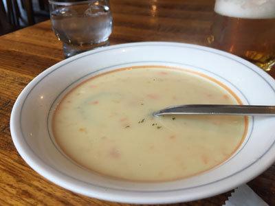 姫路 ステーキハウス ジャンプ スープ