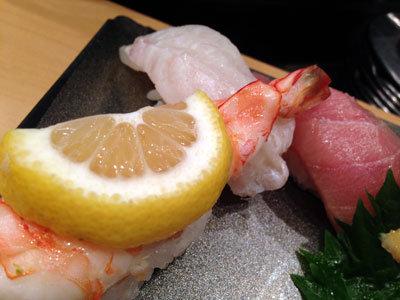 大阪 寿司 市場ずし 上にぎり ネタ大きい