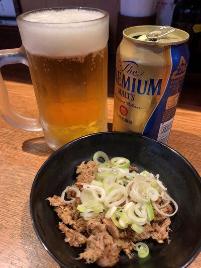 姫路 麺や 六三六 缶ビール