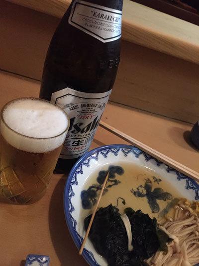 姫路 おでん 十七八 ビール 追加