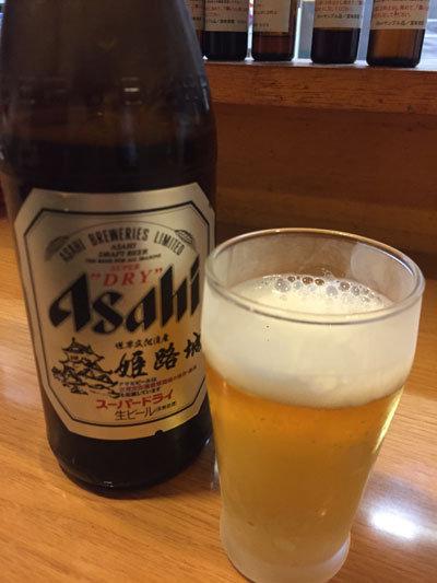 姫路 立ち呑み処 一休 瓶ビール