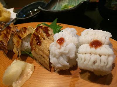 姫路 創作料理 一張羅 穴子 湯引き