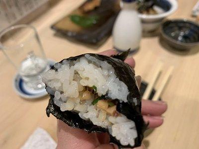 姫路 寿司 松葉寿司 細巻き 納豆