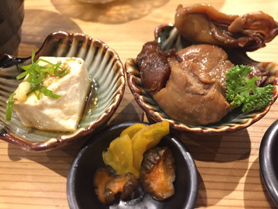 姫路 貝屋 マルホウ 吉田水産 定食 小鉢