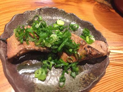 姫路 野里 とり料理 はしもと 炙り肝