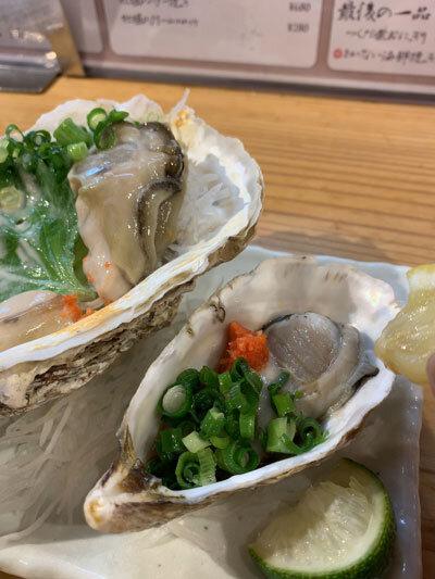 姫路 貝屋 マルホウ 生牡蠣