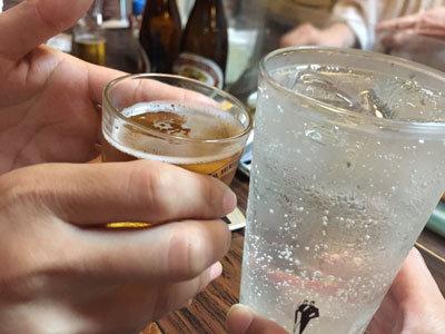 姫路 路地裏 居酒屋 慶 乾杯