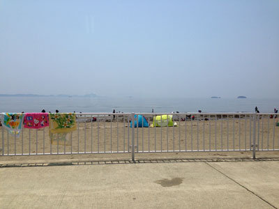 潮干狩り 新舞子 西の浜