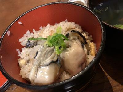 赤穂 牡蠣 かましま 牡蠣ご飯