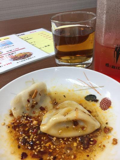 明石 台湾料理 群ちゃん オススメ 水餃子