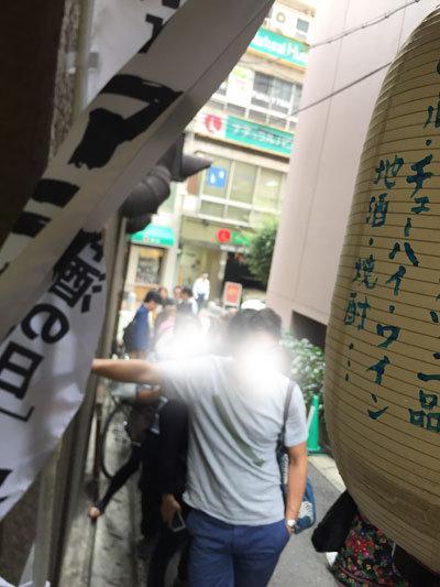 日本酒 ゴーアラウンド神戸 2017 行列