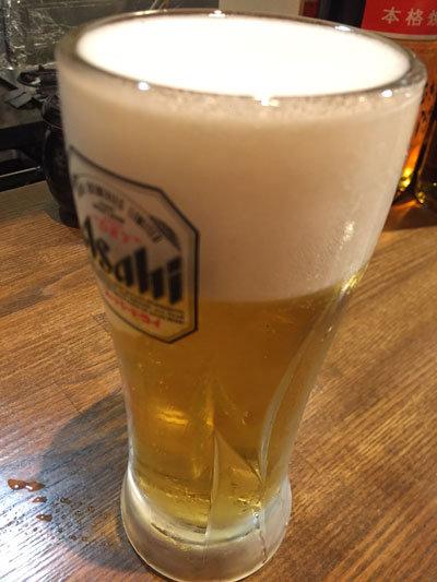 姫路 肉 チーズバル TSUMUGIYA 生ビール