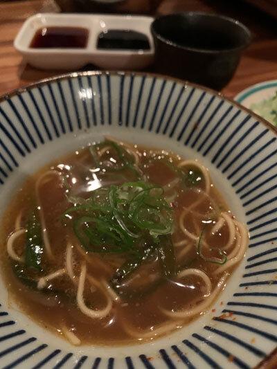 明石 麺や 一福 もつ鍋 スープ