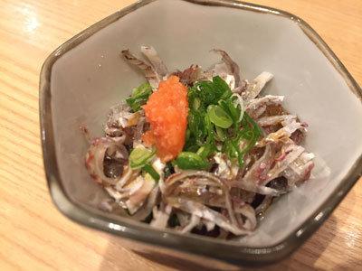 大阪 さかなやのmaru寿司 鯛皮ポン酢