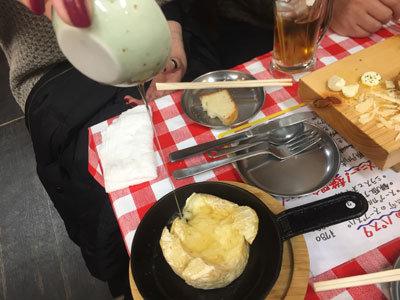 姫路 イタリアンMARUMASA チーズがけ