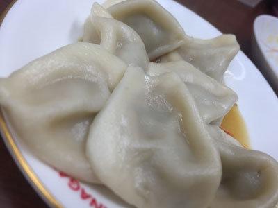 明石 パピオス 台湾 牛肉麺 群ちゃん 水餃子
