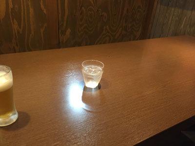 姫路 創作料理 一張羅 テーブル
