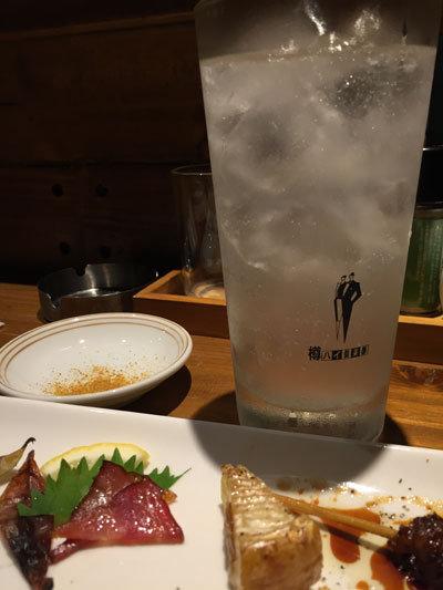 神戸 焼き鳥 とろ火屋 チューハイ レモン