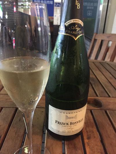 姫路 ワインバル kagen 2周年 シャンパン