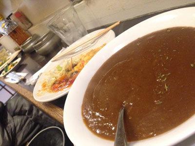 神戸 7番街 居酒屋 かぼちゃ カレー