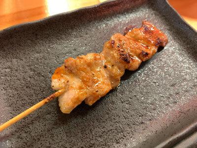 姫路 焼き鳥 鶏屋製作所 豚バラ辛旨