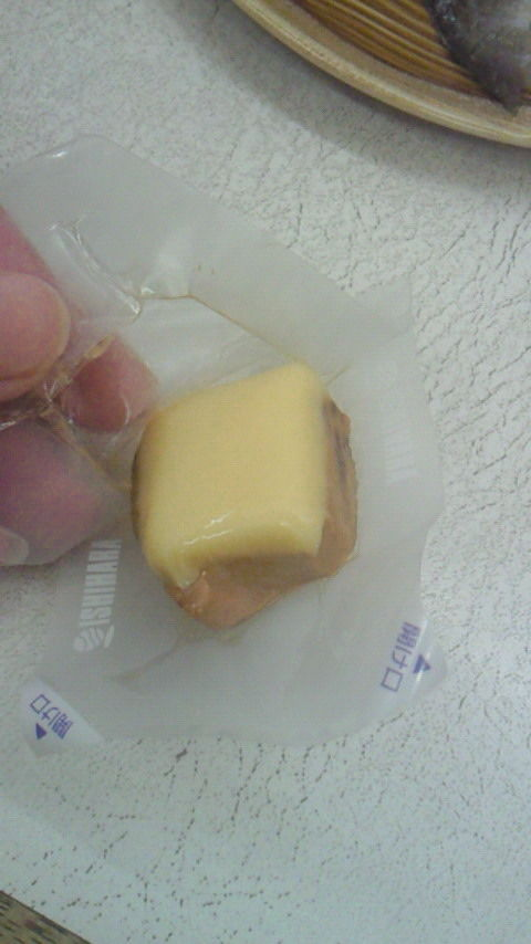 おいしい肴 チーズかつお