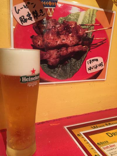 姫路 タイ屋台 玲 生ビール
