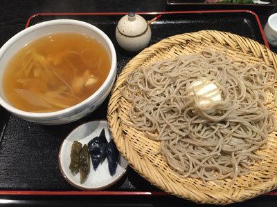 姫路 蕎麦 御座候 巣篭もり蕎麦