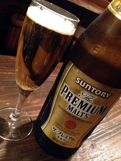 大阪 立呑み たに 瓶ビール