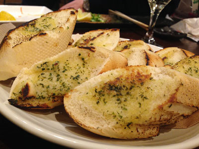 赤穂 牡蠣 かましま ガーリックトースト