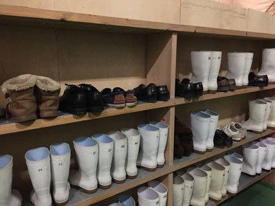 龍力 本田商店 蔵見学 2018 長靴