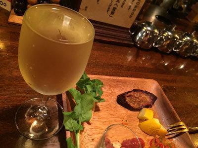 姫路 カフェ KENSINGTON 白ワイン