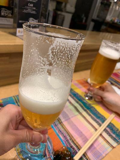 加古川 小料理 馬馬家 生ビール