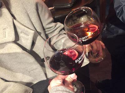 姫路 スタンド バー ボンボヤージュ HOTワイン