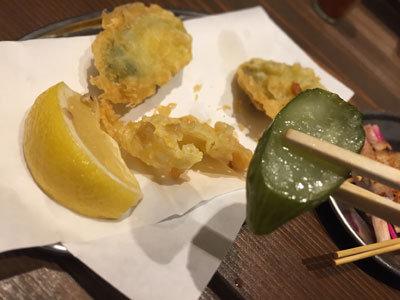 姫路 立吞み BOSS豚 きゅうりの漬物