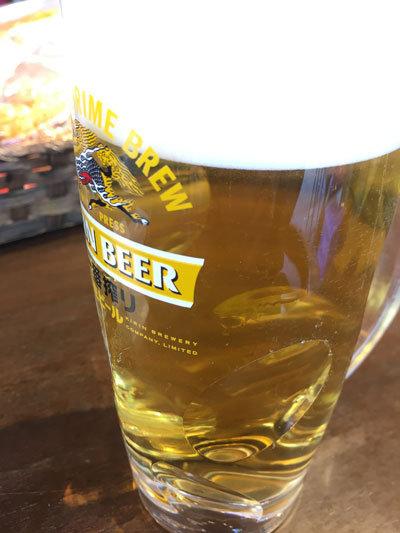 姫路 はりかい-姫路城店 生ビール