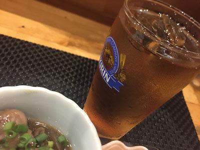 姫路 山陽電車高架下 麦焼酎ウーロン割