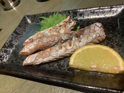 姫路 魚町 土佐料理 よさこい 塩焼き
