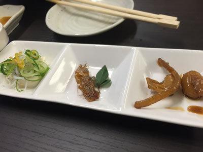 姫路 天晴水産 ぽっぽ家 前菜